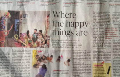 Where happy things are full